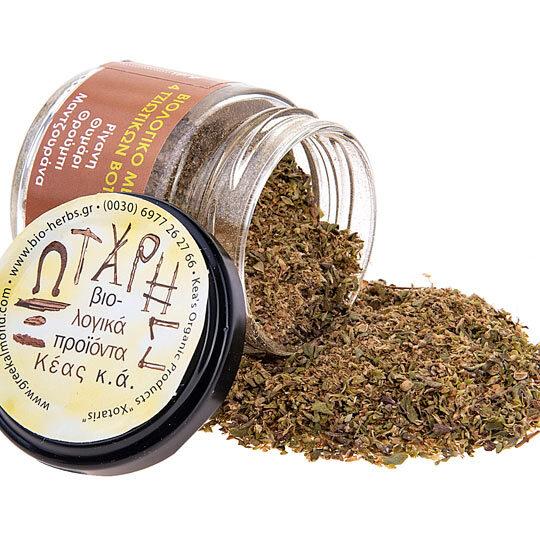 ΞΩΤΑΡΗΣ (Κέα), Bio Essent mix (Βιολογικό μείγμα με ρίγανη, θυμάρι, θρούμπι, ματζουράνα)