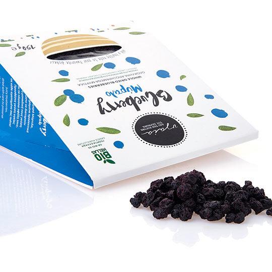 ΥΓΑΙΑ (Πάρνωνας), Βιολογικά αποξηραμένα Μύρτιλα (blueberry), 150 γρ.